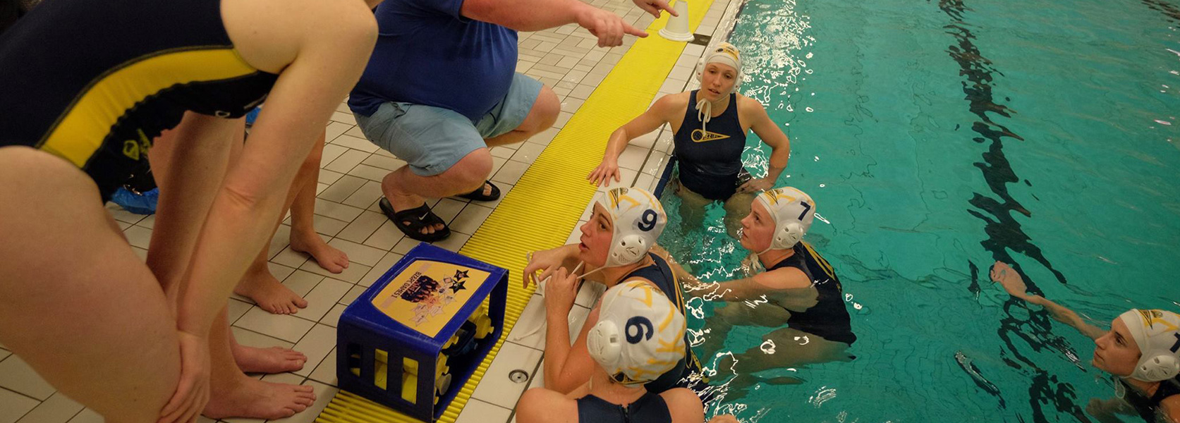 Waterpolo dames Bodegraven