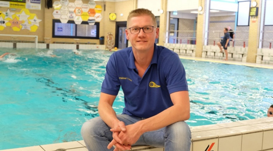 Heren Waterpolo Bodegraven Andreas de Heij